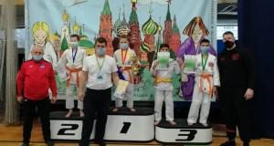 Ялтинские спортсмены - медалисты зимнего Кубка Москвы по дзюдо