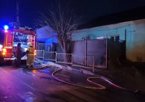 Утреннее происшествие в Симферополе: на пожаре погиб человек