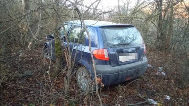 ДТП на дороге «Судак – Грушевка»: машина не вошла в поворот