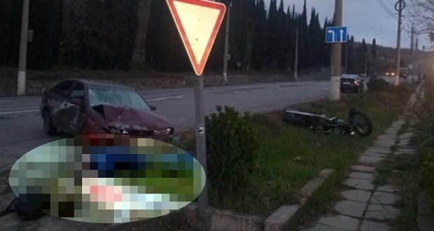 ДТП на трассе «Ялта – Севастополь». Погиб мотоциклист