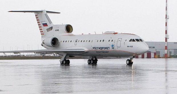 Крым расторг контракт по вызову осадков с помощью авиации. Самолет Росгидромета Як-42Д вернулся в Москву