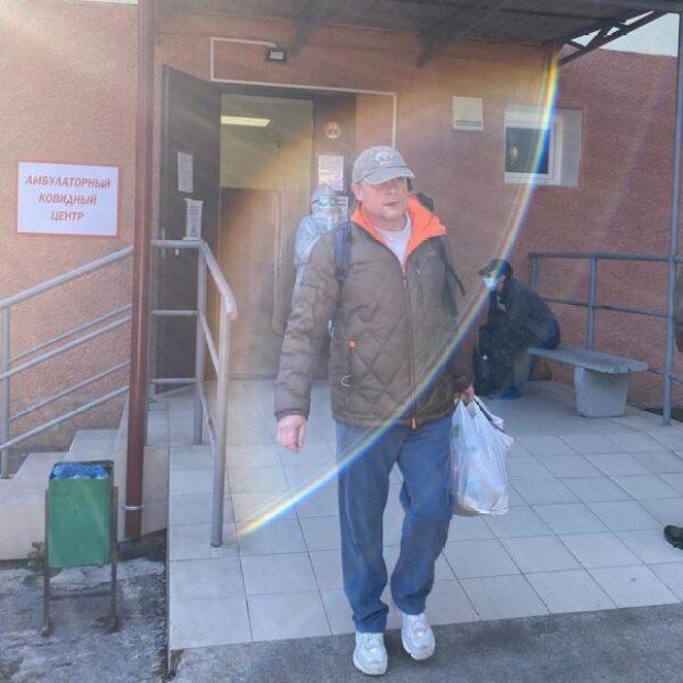 57-летний Сергей Жигунов выписался из «ковидного» госпиталя в Ялте