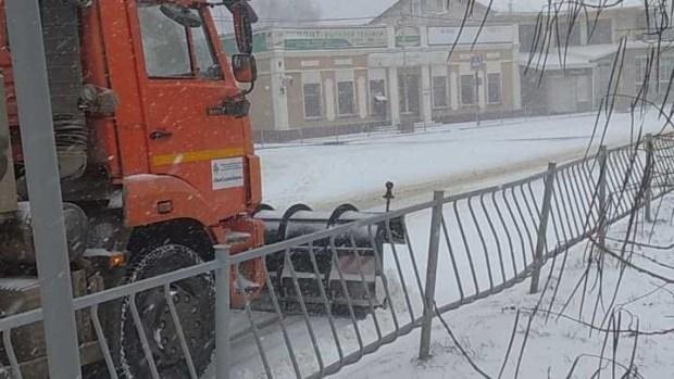 Как Керчь борется со снежной стихией