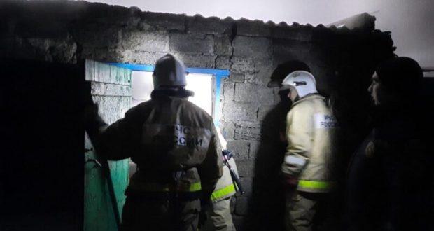 На пожаре в Раздольненском районе Крыма пострадал человек