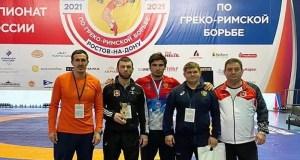 Крымские спортсмены взяли бронзу чемпионата России по греко-римской борьбе