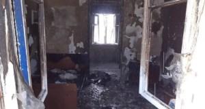 Пожар в Черноморском районе грозил взрывом газовых баллонов. Пострадал мужчина