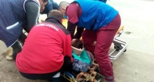 На склоне плато Ай-Петри, во время катания на «ватрушке» пострадал ребенок