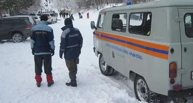 На плато Ай-Петри и Ангарском перевале организованы аварийно-спасательные посты