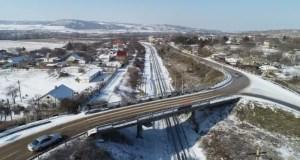 Беспилотники МЧС мониторят ситуацию на крымских автодорогах