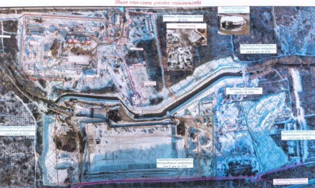 Водозабор на реке Бельбек - под Севастополем - готов на 80%