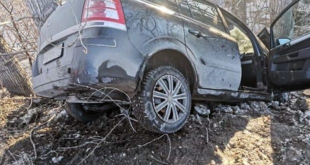 Автомойщик решил покататься на машине клиента и попал в ДТП. Случай в Симферополе