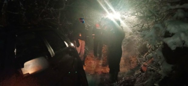 Ночное ДТП по дороге на Ай-Петри