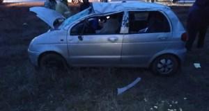 В ДТП на дороге «Старый Крым – Золотое поле» пострадало 2 человека