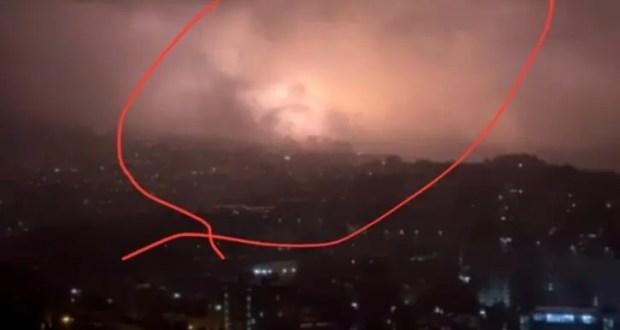 Гроза отключила электричество в Ялте