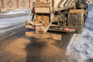 Севавтодор работает на дорогах Севастополя