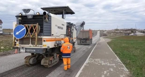 В Севастополе ремонтируют девять автомобильных дорог