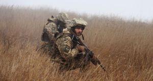 В марте украинские десантники намерены провести учения вблизи границы с Крымом