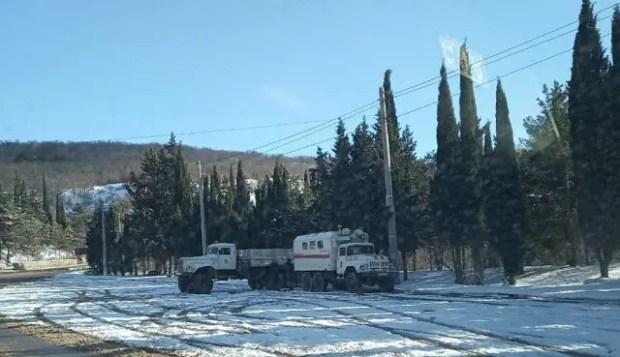 Ситуация на дорогах Крыма - контролируемая