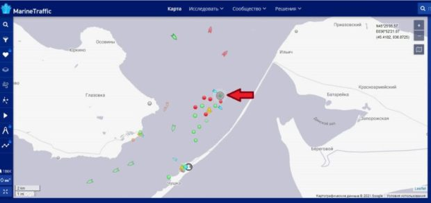 ЧП в Керченском проливе – на сухогрузе «April» отравилась команда, один человек скончался