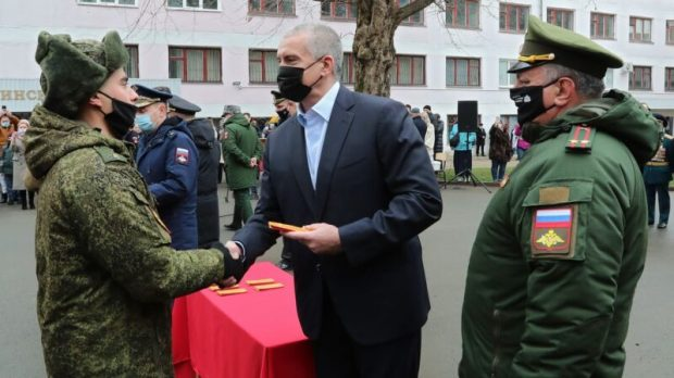 Военный учебный центр в КФУ им. В.И. Вернадского открыл цикл медицинской службы