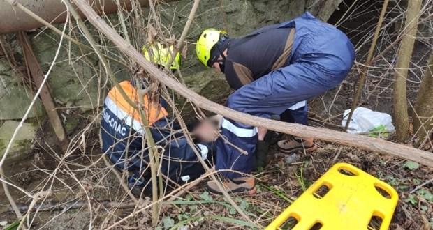 В пгт. Партенит спасали мужчину - упал в реку