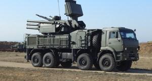 Расчёты ЗРПК «Панцирь-С1» ЧФ провели в Крыму учение по поиску и уничтожению воздушной цели