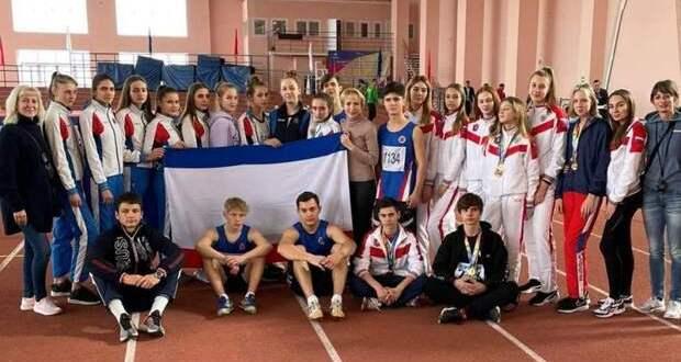 Крымские легкоатлеты завоевали 17 медалей на Всероссийских соревнованиях в Краснодаре