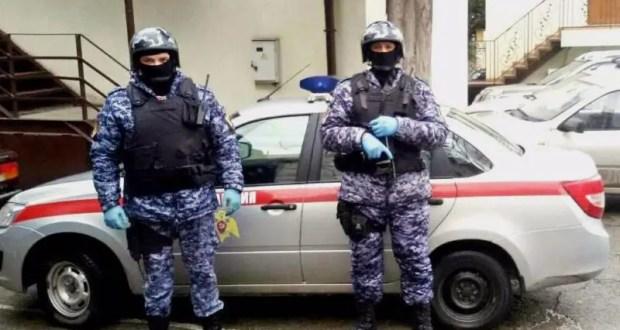 Сотрудники Росгвардии в Крыму и в Севастополе задержали подозреваемых в ряде правонарушений