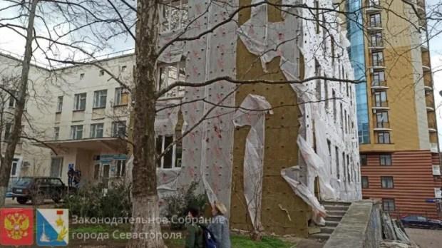 Ремонт поликлиники на улице Ерошенко – под личным контролем спикера Заксобрания Севастополя