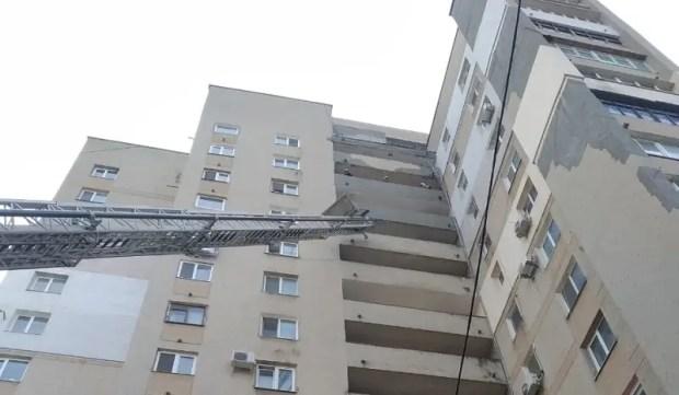 На пожаре в Симферополе спасено 4 человека