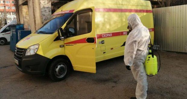 Кто и как проводит в Крыму дезинфекцию от коронавирусной инфекции
