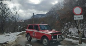 Дорога на плато Ай-Петри закрыта