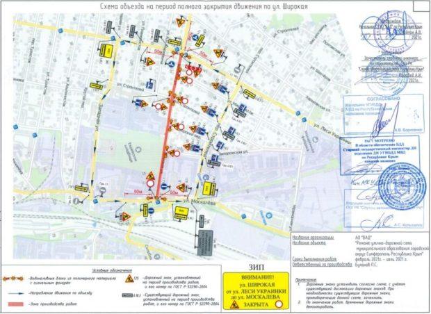 В Симферополе начинается масштабный дорожный ремонт. Какую улицу перекроют уже с 24 февраля