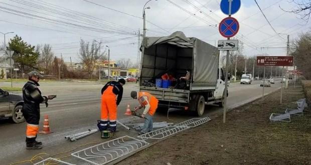 В Симферополе приводят в порядок улично-дорожную сеть