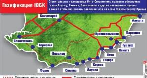 Как идет строительство газопровода «Ялта – Форос – Севастополь»