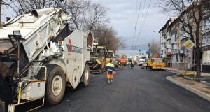 В Симферополе возобновлено движение транспорта по улице Козлова