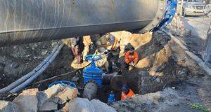 Полвека прослужил: в Севастополе заменили участок старого водопровода