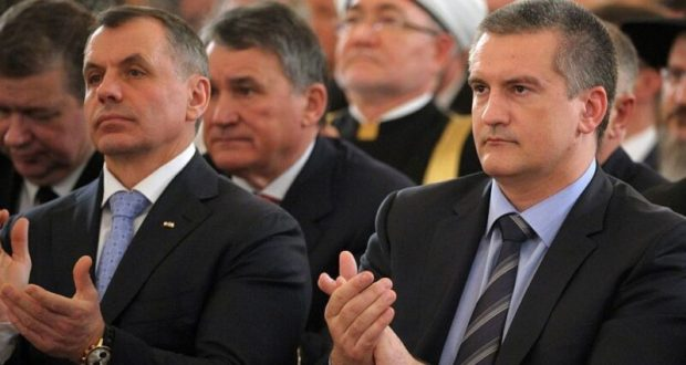 СНБО Украины ввел персональные санкции в отношении Аксёнова и Константинова
