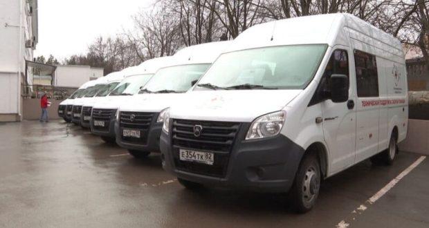 Автопарк крымской «Скорой помощи» пополнился 8 новыми автомобилями