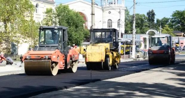Транспортные пробки в Симферополе… А будет хуже – смотрите, какие улицы перекроют на днях