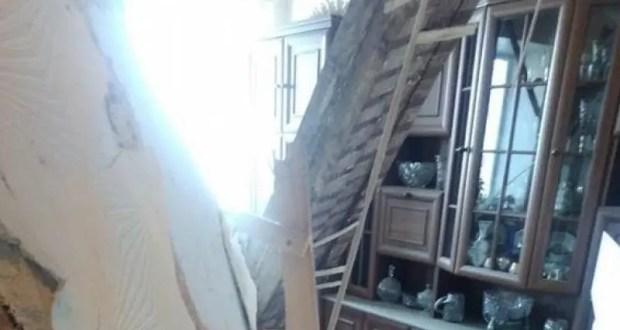 Прокуратура Крыма проверяет вопиющий случай в Багерово: в многоквартирном доме обрушился потолок
