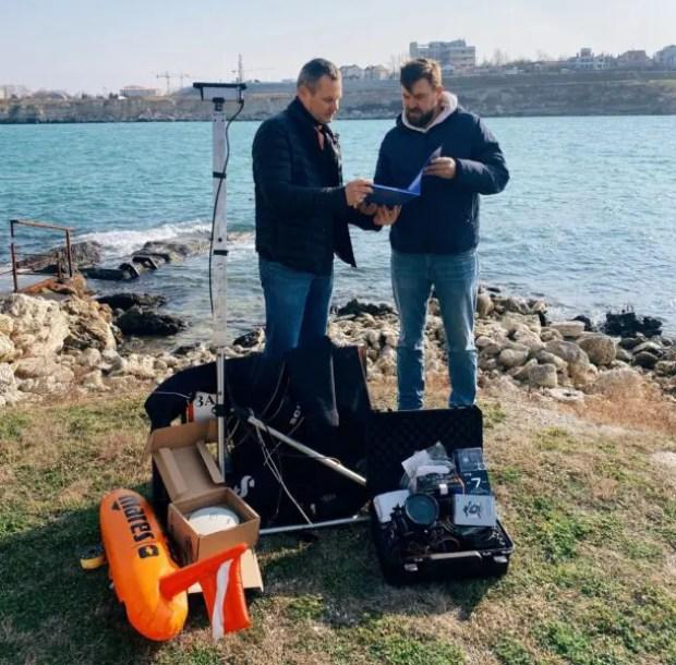 Сотрудники отдела подводной археологии Херсонеса провели запуск нового оборудования