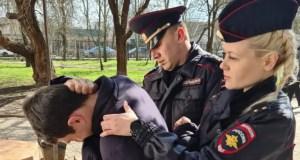 В Джанкое молодая сотрудница полиции по «горячим следам» задержала злоумышленника