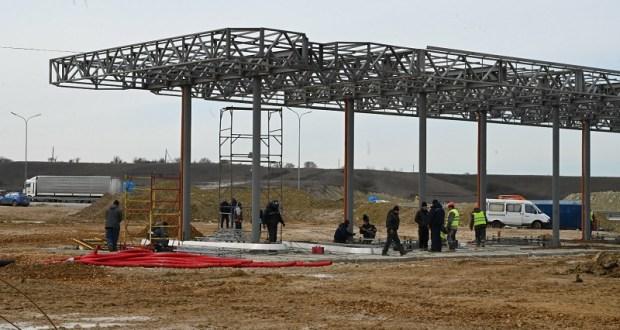 Строительство МФЗ на трассе «Дубки - Левадки» готово на 70%