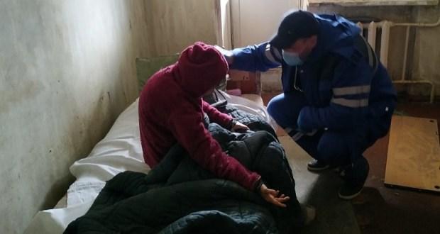 На пожаре в Евпатории спасен человек