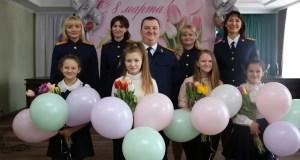 В Крыму накануне Международного женского дня подвели итоги детского конкурса «Моя мама – офицер»