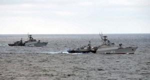Морской бой и торпедные стрельбы – учения Черноморского флота