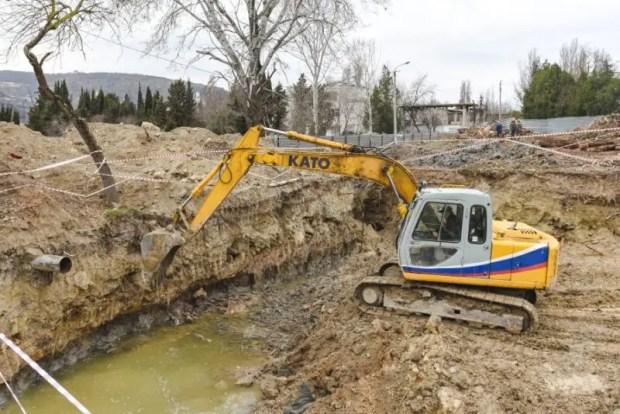 В Инкермане началось строительство физкультурно-оздоровительного комплекса