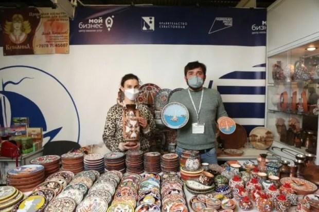 Предприниматели Севастополя представили продукцию на выставке в Москве
