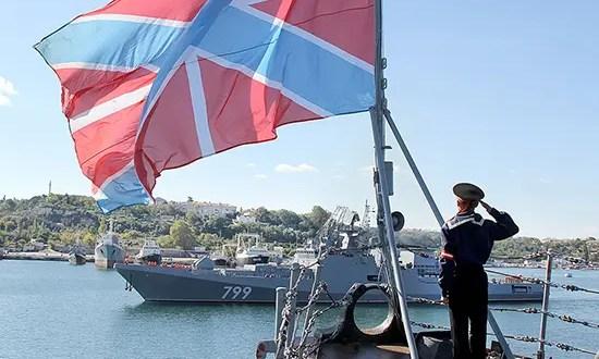 Отряд кораблей Черноморского флота вышел в море «встречать американцев»